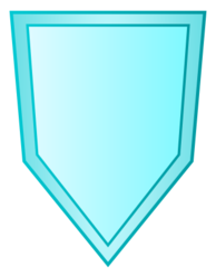10Y Crystal Mirror Shield