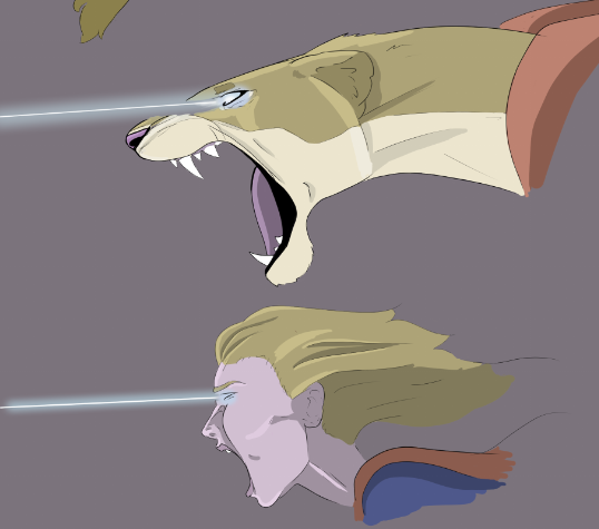 Most recent image: Lioness Supergirl, head shots