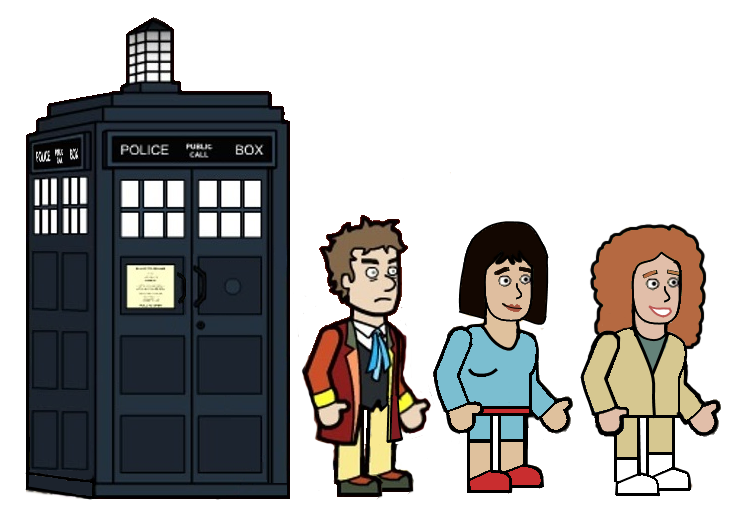 The 6th doctor and his Friends