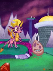 (Spyro the Dragon) Midnight Mountain