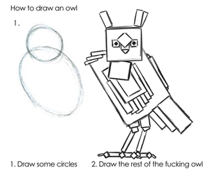 200805 MiniDome - Draw The Rest Of The Fucking Owl - lines
