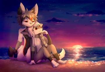 Summer Ending Sunset