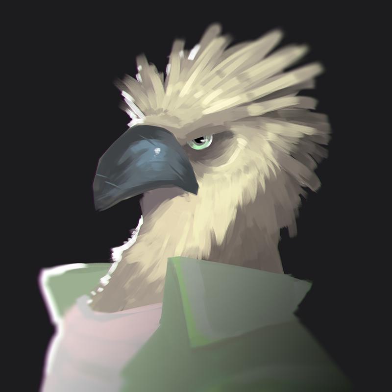 Most recent image: PORTRAIT OF AN EAGLE