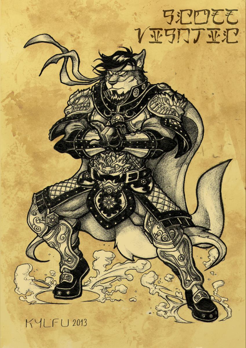 Scott Visnjic Fantasy Armor Commission