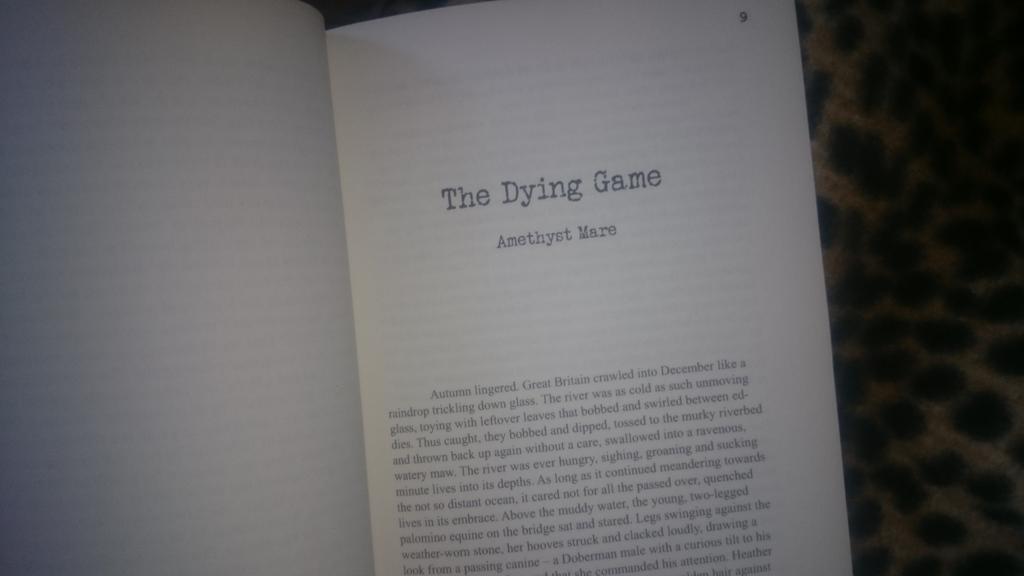 Typewriter Emergencies - The Dying Game