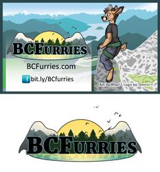 [V] BCFurries Logo 2016 + Card
