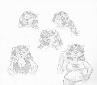 Whitney practice sketches