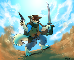 [Commission] The Fox with No Name