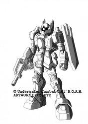 Underwater Combat Unit: N.O.A.H. - A-06 / A-13 Lynx
