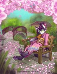 Mei in the Garden