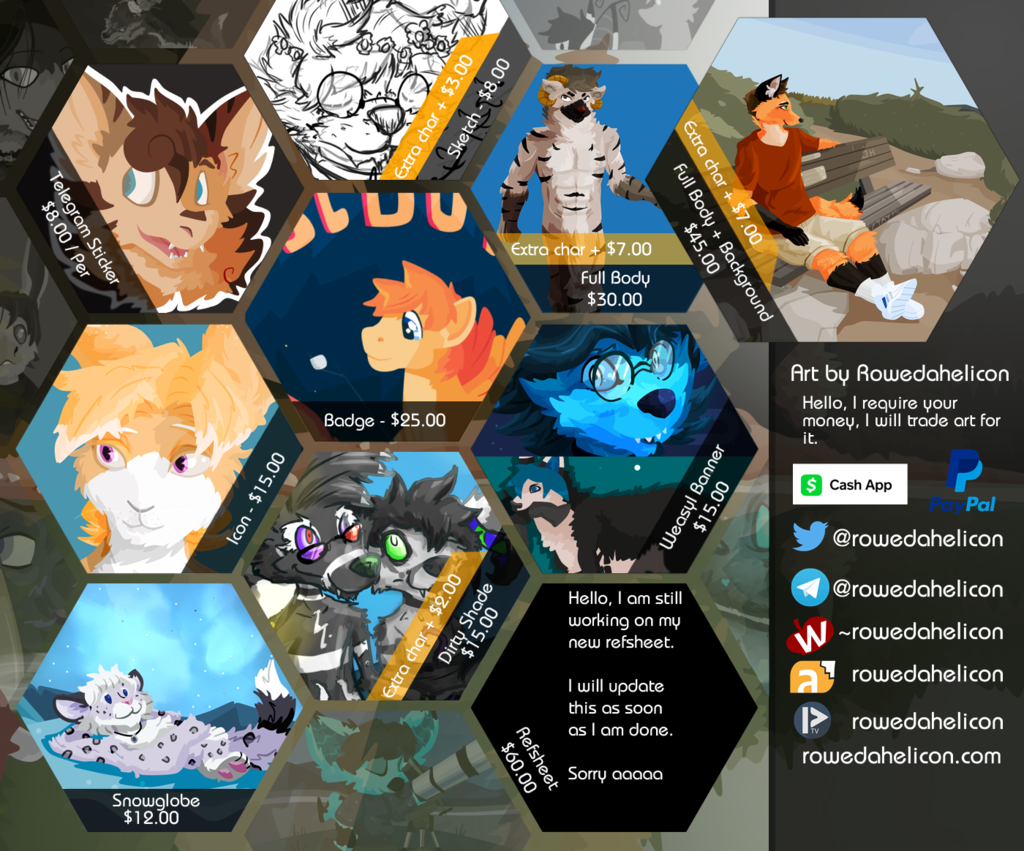 Featured image: Commissions open - 2018 edition