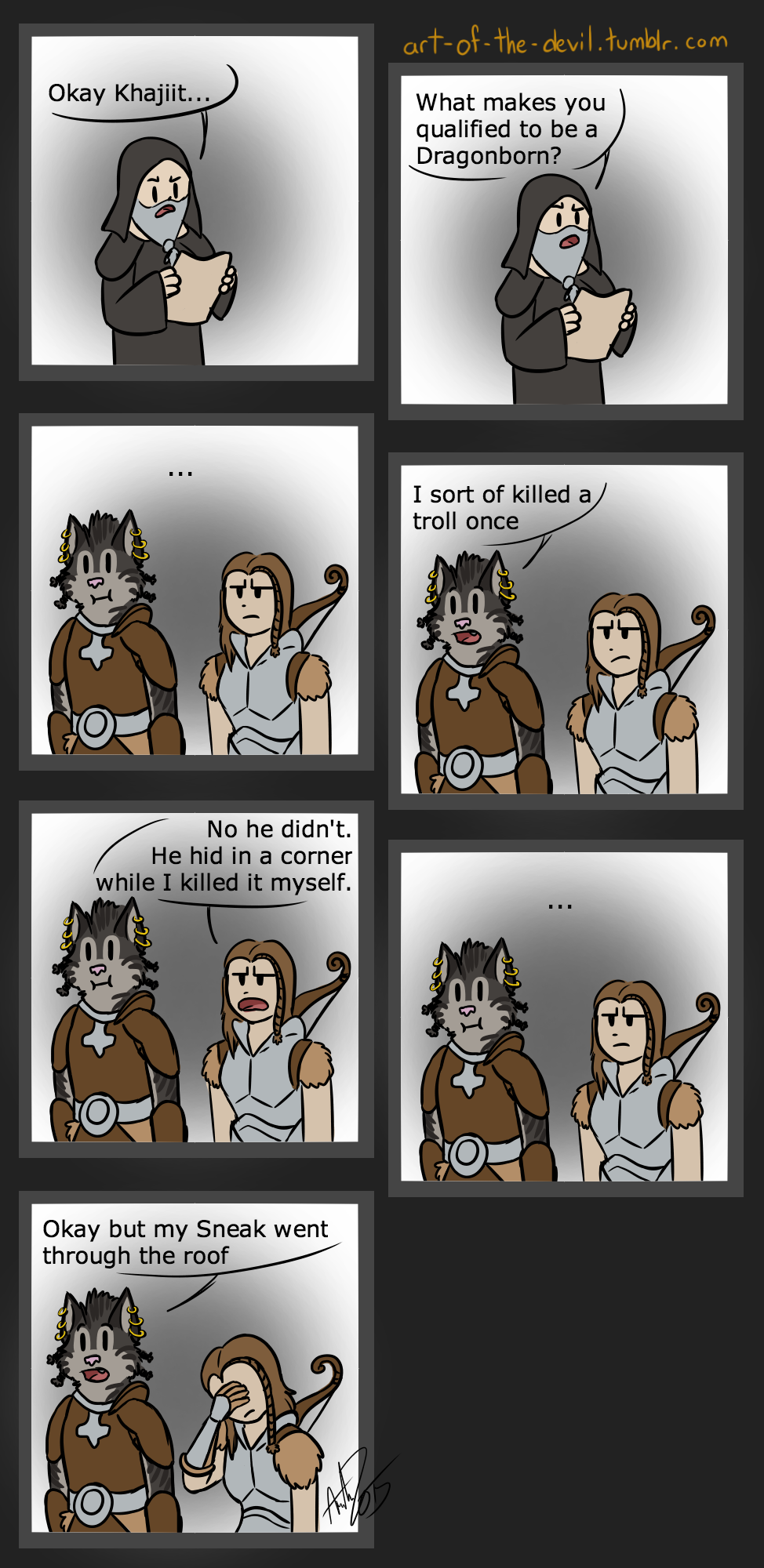Featured image: I'm Playing Skyrim