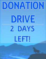 PETER S. BEAGLE DONATION DRIVE - 2 DAYS LEFT!