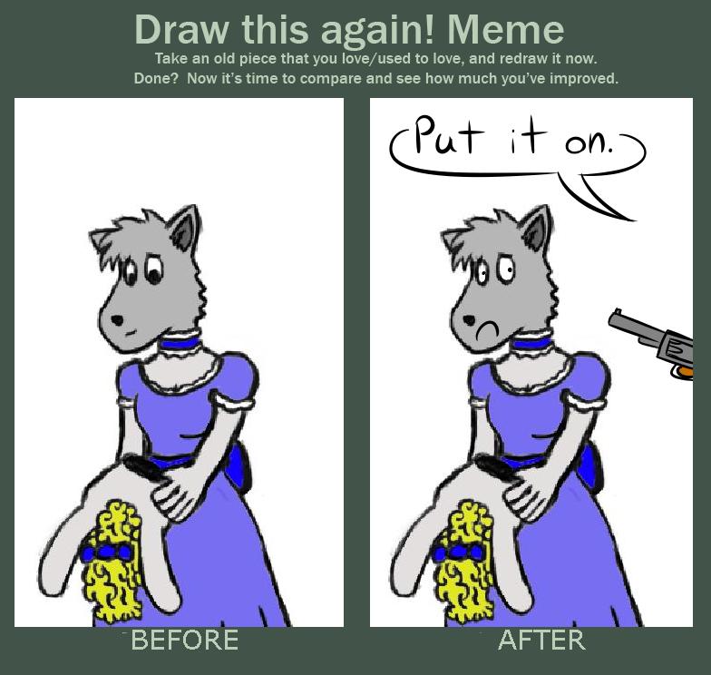 Draw This Again Meme Weasyl