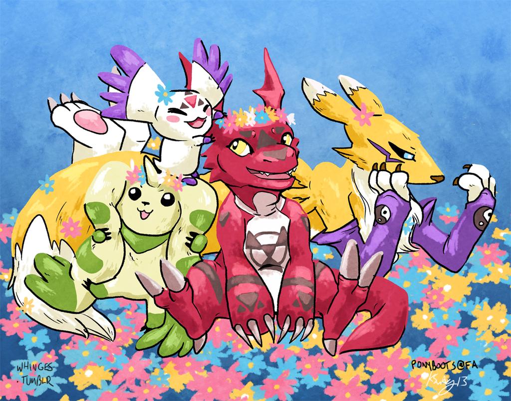 Floral Digimon Tamers