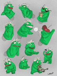 Feisty Muppet