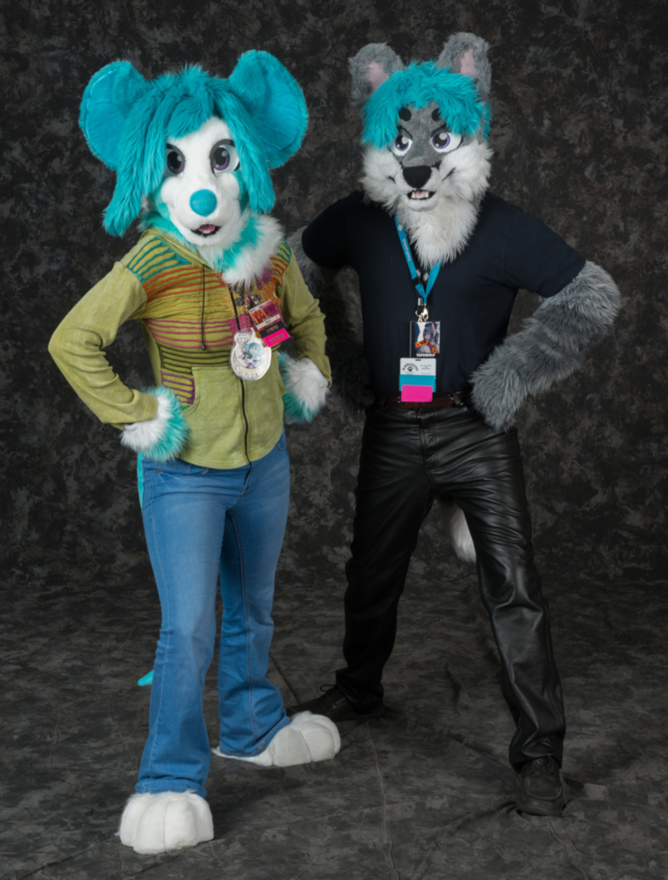 Peony and Daryil at AC2016