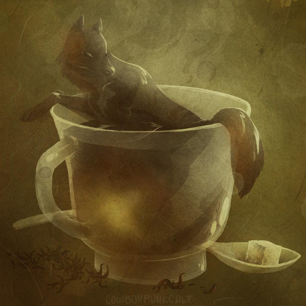 Tea Wolf (commission)