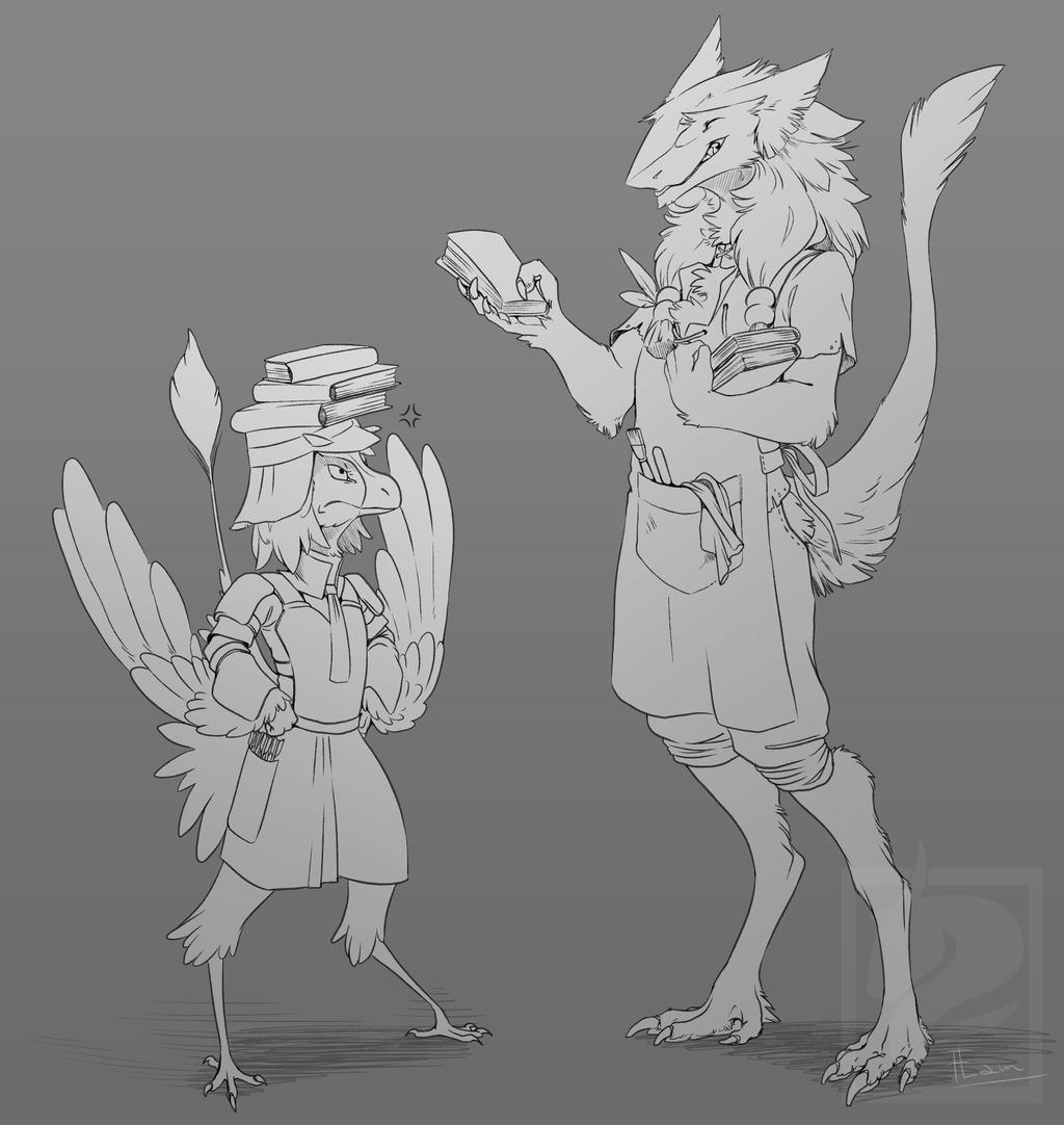 Ren and Rakas