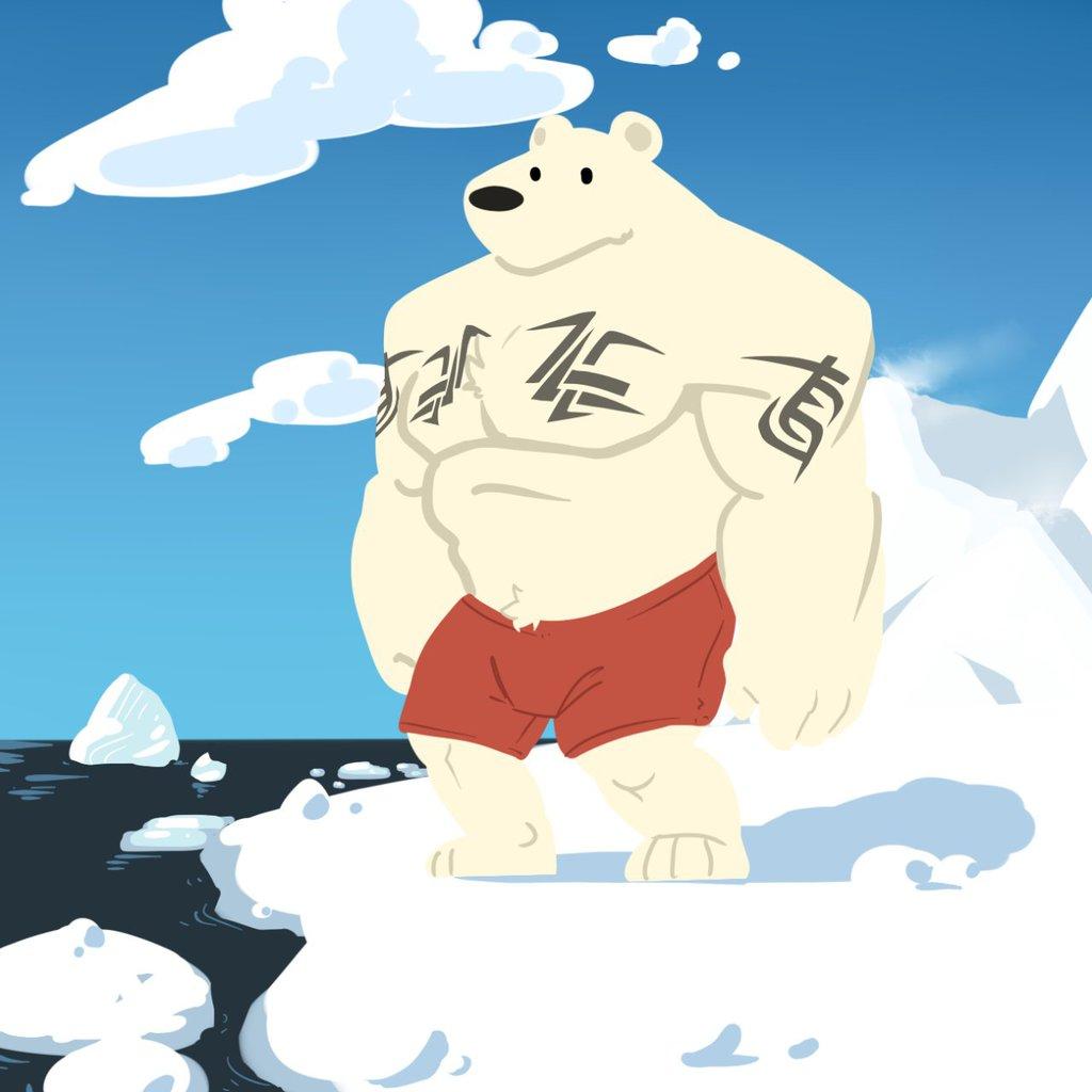 Ponderin polar burr