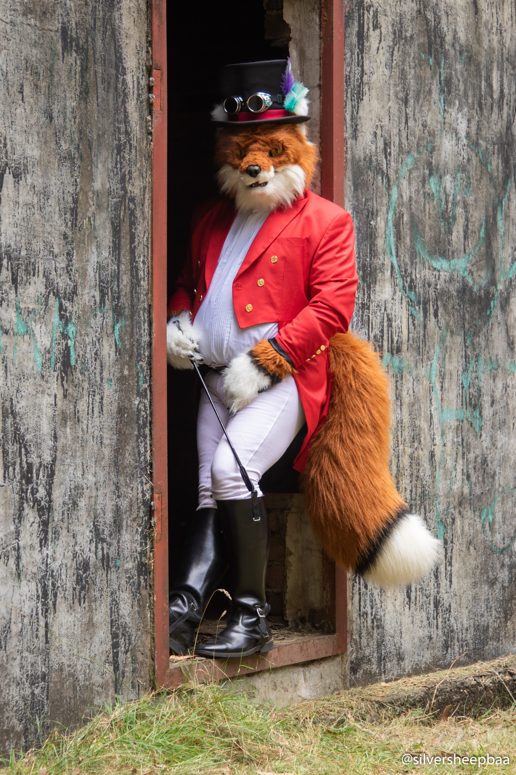 Furry Ironfest Promo 2019: Lord Darius Foxworth 1