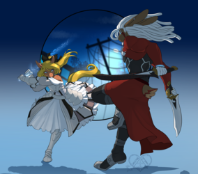 [C] Saber vs. Archer