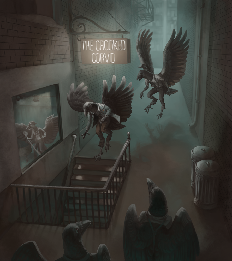 Featured image: The Crooked Corvid
