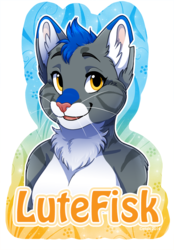 Further Confusion Badge: LuteFisk