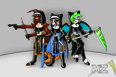 The Latex Battle Nuns