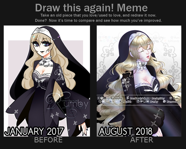 Draw this Again Sister Corentine