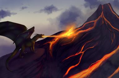 Commission - Burn
