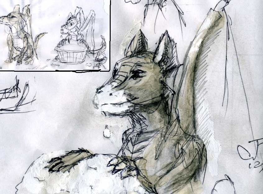 Most recent image: Cupcake Dragons