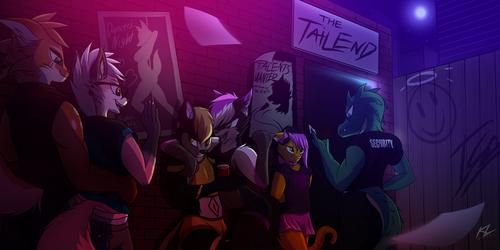 Club Night! (comm)