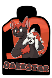 Confuzzled 2017 Badges - Darkstar
