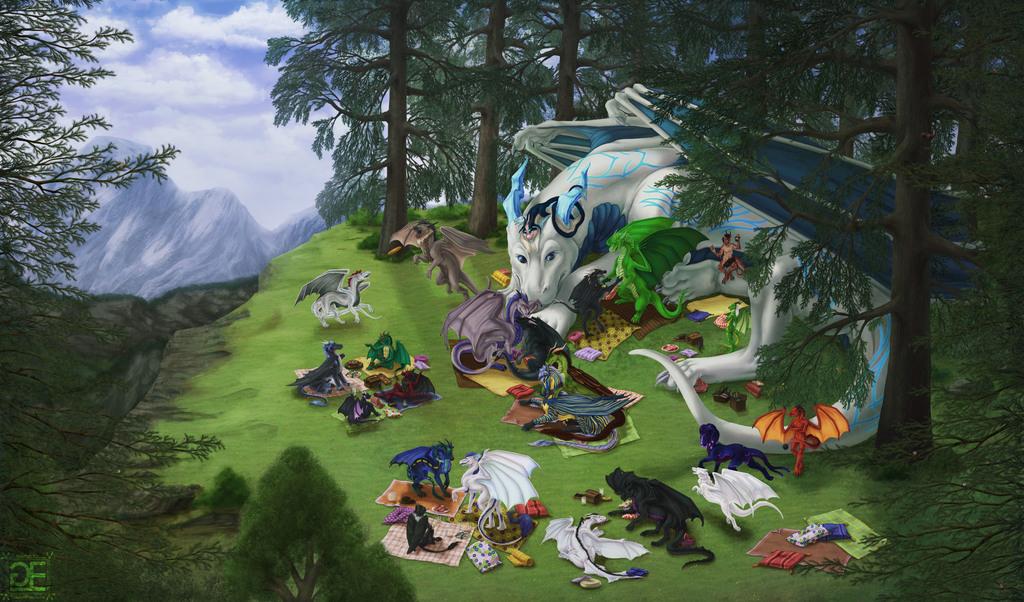 When Dragons Meet [Dragon Cuddle]