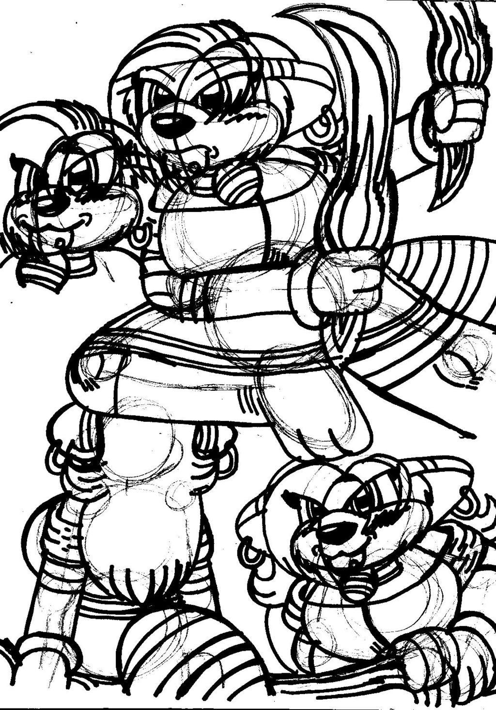 Sketch Dump #003.