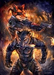 MGS: Phantom Pain Art x Music Collab with Fox Amoore