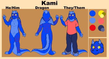 [C] Kami The Dragon Ref Sheet
