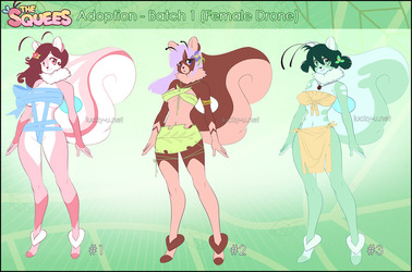 [ADOPT] Squee Batch 1 - (DONE)