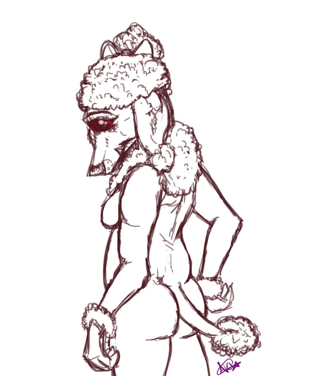 Poodle Doodle (sketch request)