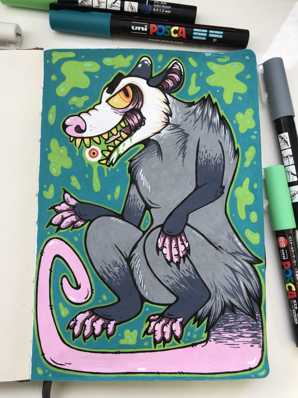 New Sketchbook - New and snarly Tales!
