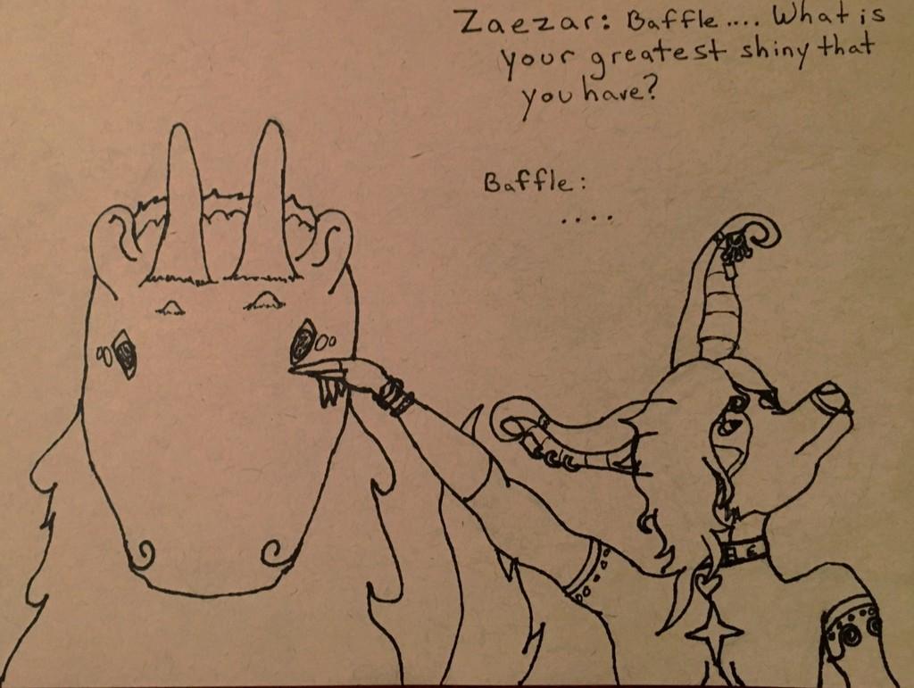 [My Art] Baffle Ask from Zaezar