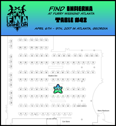 Find Infierna at FWA 2017!