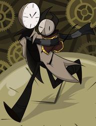Commission: Stroll in clockwork