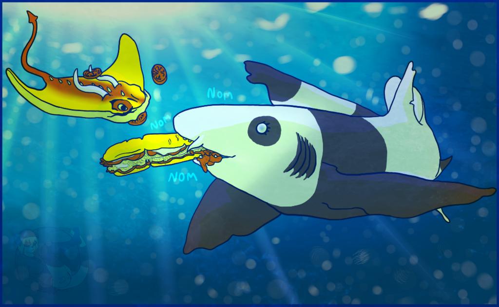"""Most recent image: Chigui - """"Have a sandwich!"""""""