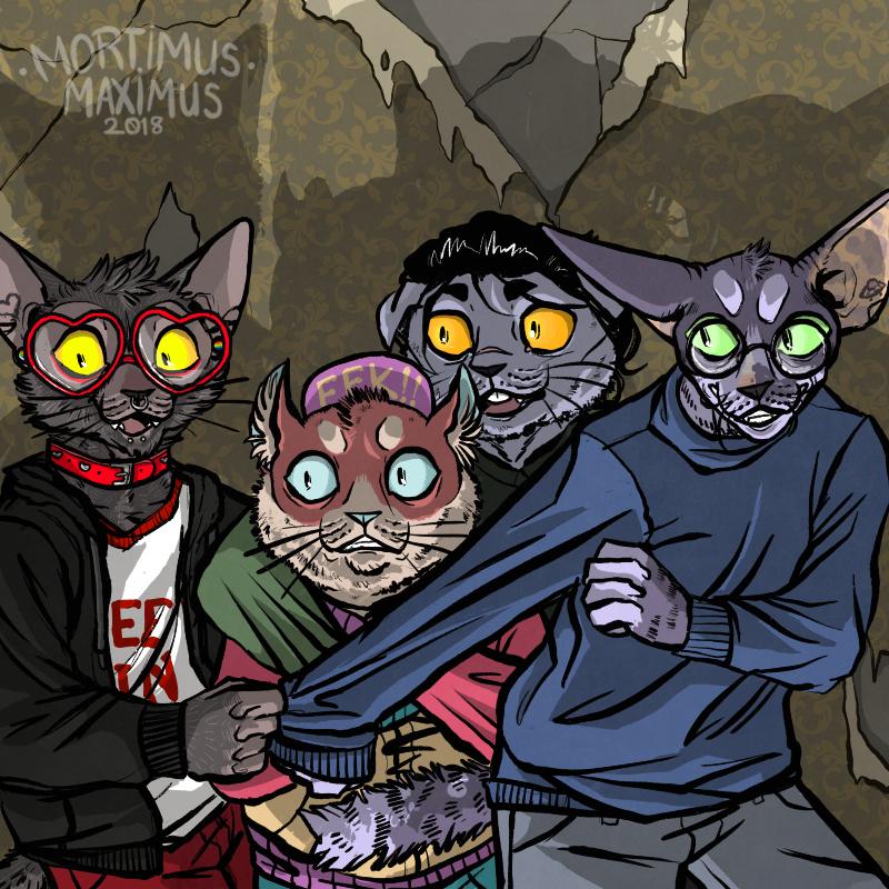 [G] Scaredy Cats