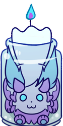 Kindling Candle Tip Jar [GIF]