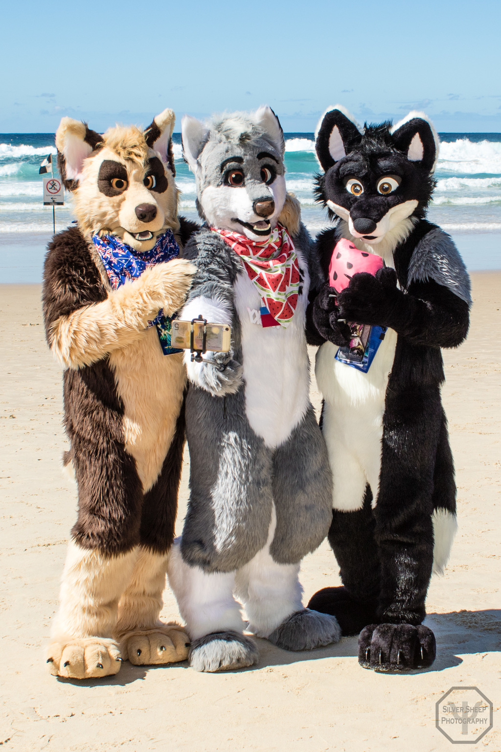 FurDU 2017: Beach Side Trio