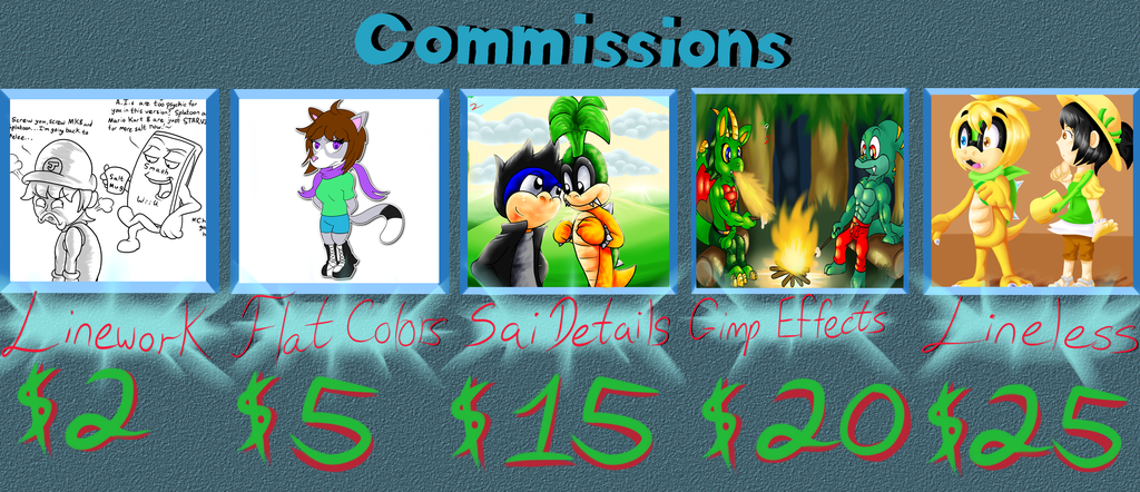 Most recent image: Commission Chart 2016 w. Guidelines