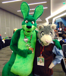 Peter and Duncan Roo at FC'18